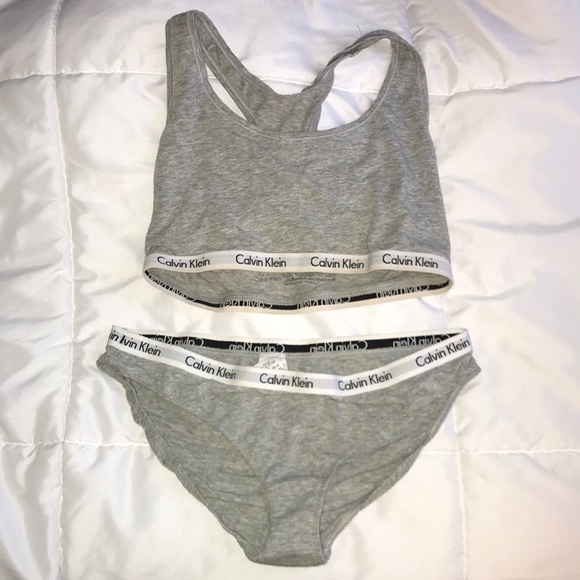 96f776a0a4a4a Calvin Klein Other - Calvin Klein size M matching bra and panty set